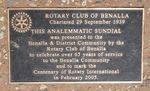 Rotary Sundial : 20-October-2011