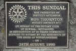 Rotary Sundial Inscription : August-2014
