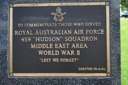459 Hudson Squadron : 16-November-2014