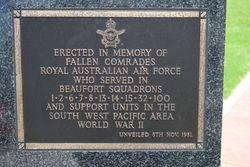 Beaufort Squadrons Plaque : 16-November-2014
