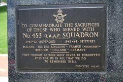 453 RAAF Squadron Plaque : 16-November-2014