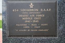 454 Squadron Plaque : 16-November-2014