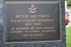 Desert Air Force Plaque : 16-November-2014