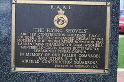 Flying Shovels Plaque : 16-November-2014