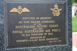 Australian Flying Corps & R.A.A.F : 16-November-2014