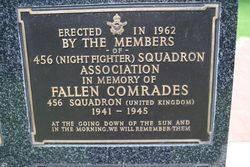 456 Squadron Plaque : 16-November-2014