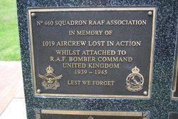 460 Squadron Plaque : 16-November-2014