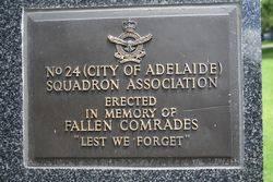 No 24 Squadron Plaque : 16-November-2014