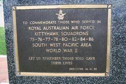 Kittyhawk Squadrons Plaque: 16-November -2014
