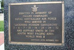 Lockheed Hudson Plaque : 16-November-2014
