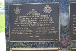 B24 Liberator Bombers Plaque : 16-November-2014