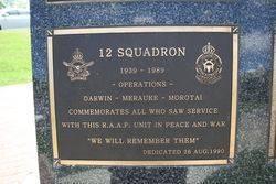 12 Squadron Plaque : 16-November-2014