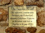 Sapphire Fields Insc