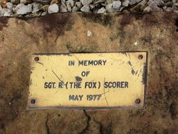 Scorer Plaque : 26-May-2015