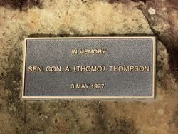 Thompson Plaque : 26-May-2015