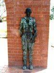 Settlers Memorial Purtell Statue