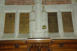 Memorial Plaques 3 : 12-September-2014