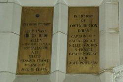 Memorial Plaques 4 : 12-September-2014