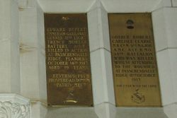 Memorial Plaques 5 : 12-September-2014