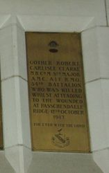 Clarke Plaque : 12-September-2014