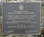 Siege of Tobruk Memorial Plaque : 08-June-2012