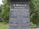 Sir Charles Lilley Memorial Inscription