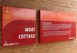 Moat Cottage Plaque: 10-January-2016