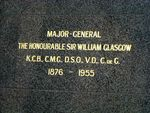 Sir Thomas William Glasgow Front inscription
