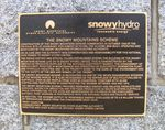 Snowy Mountains Scheme Workers Memorial : 25-January-2011