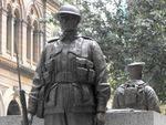 Soldier Closeup Sydney Cenotaph