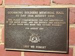 Soldiers` Memorial Hall : 02-August-2011