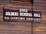 Soldiers Memorial Hall Inscription