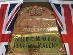 Memorial Hospital Honour Roll 4 :