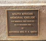 South African War Memorial : 18-July-2011