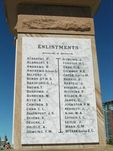 Southport War Memorial  Enlistments