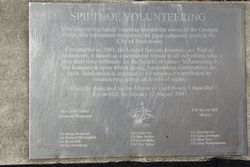 Plaque Inscription: 06-November-2015