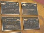 Memorial Plaques :16-10- 2007