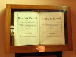 Honour Book : 19-April-2015