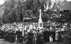 19-April-1922 : Unveiling (State Library of New South Wales)