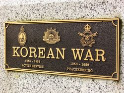 Korean War Plaque : 17- December-2014