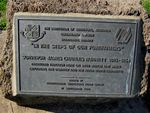 Surveyor James Charle Burnett  Plaque : 16-07-2012