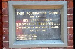Foundation Stone : 14-August-2014
