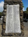 Sutherland War Memorial  Honour Roll