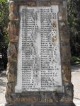 Sutherland War Memorial  Honour Roll 3