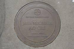McCallum AO CBE: 13-March-2016