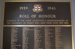 Honour Roll Detail:22-March-2016 (Peter Williams)