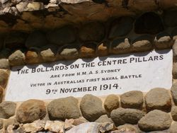 Bollards Plaque : 17-August-2014