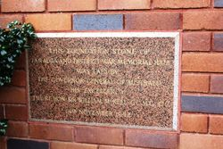 Foundation Stone : 25-September-2016 (Roger Johnson)