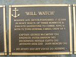 Wilk Watch Plaque : 2007