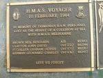 H.M.A.S. Voyager 1964 Plaque : 2007